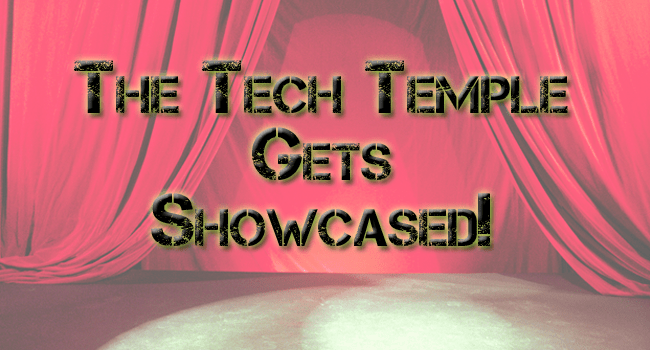 The Tech Temple Gets Featured in Templatic's Showcase