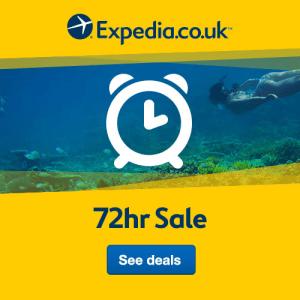 Expedia 72-hour Sale