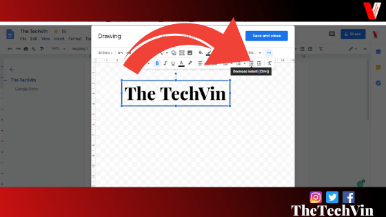 how to put a textbox in google docs