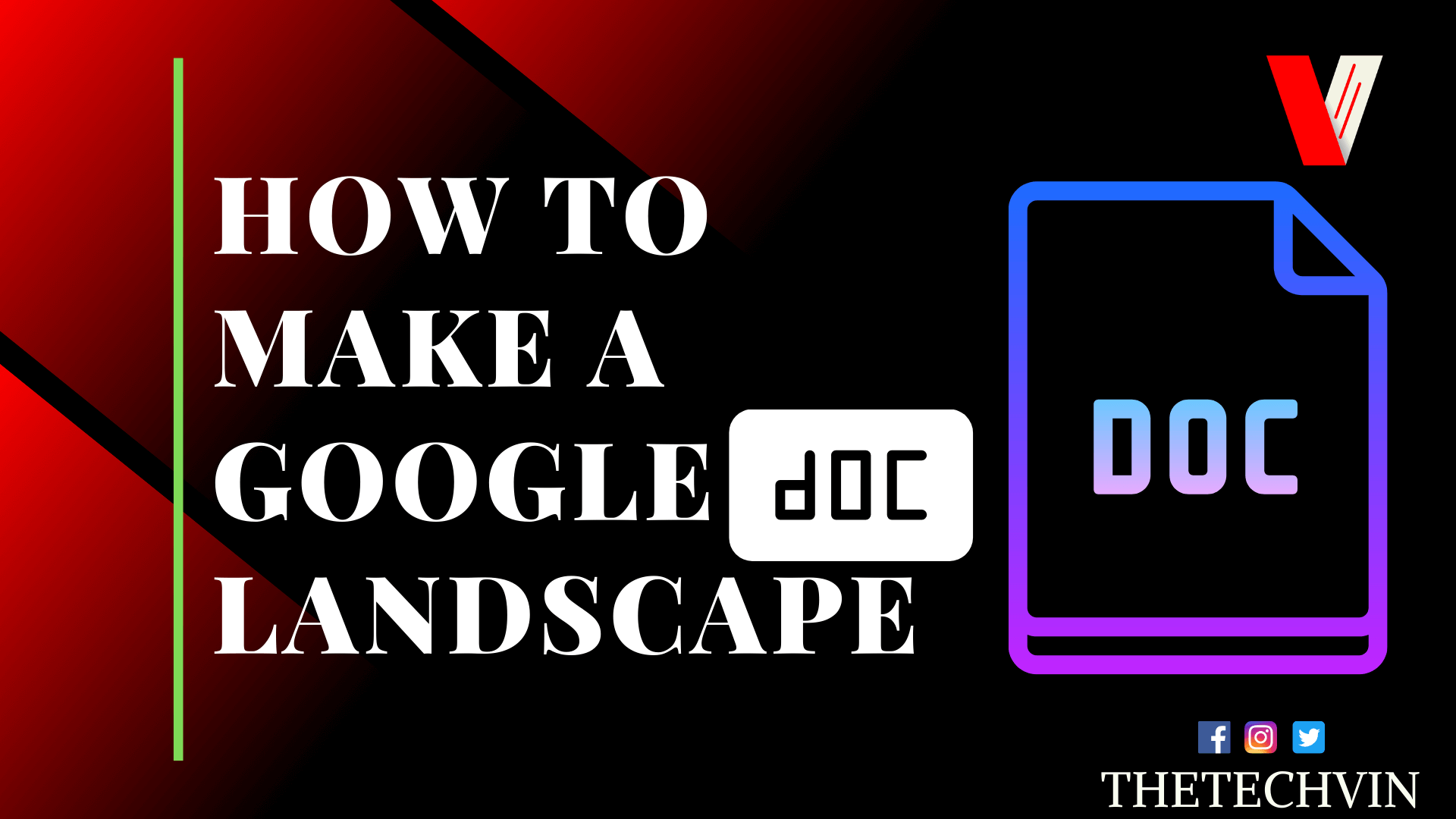 How To Make A Google Doc Landscape Step Wise Guide
