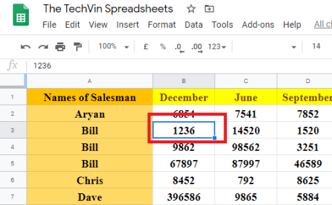 payment spreadsheets