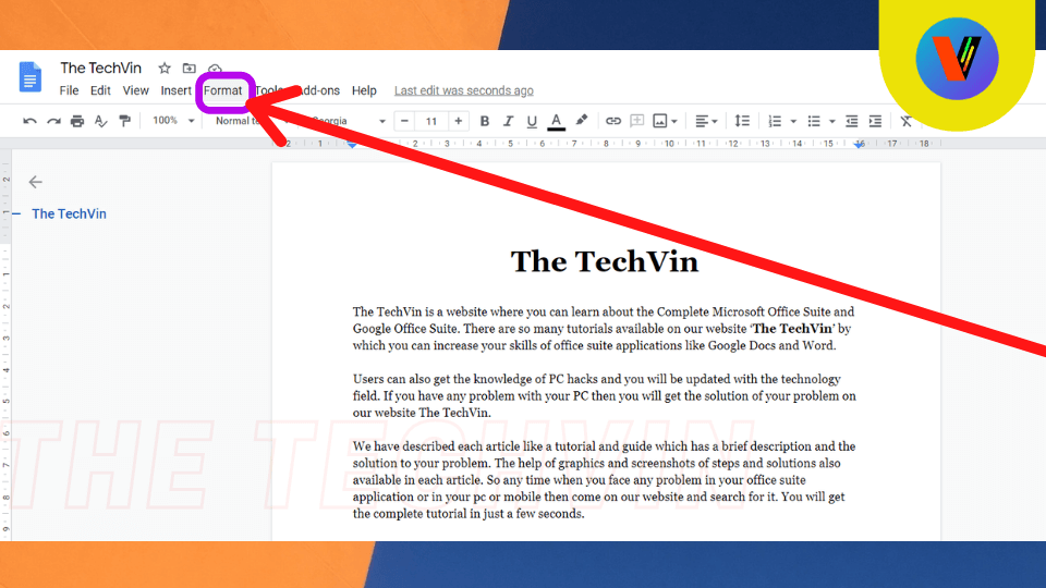 number the pages in google docs