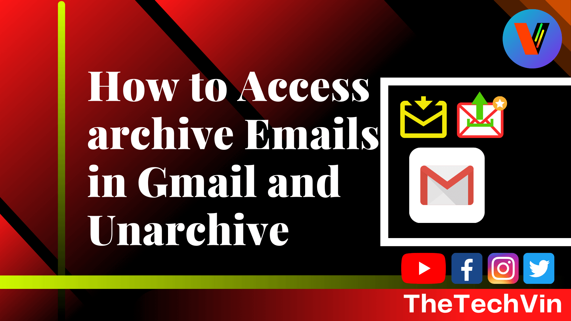 How to Access Archive Emails in Gmail and unarchive them