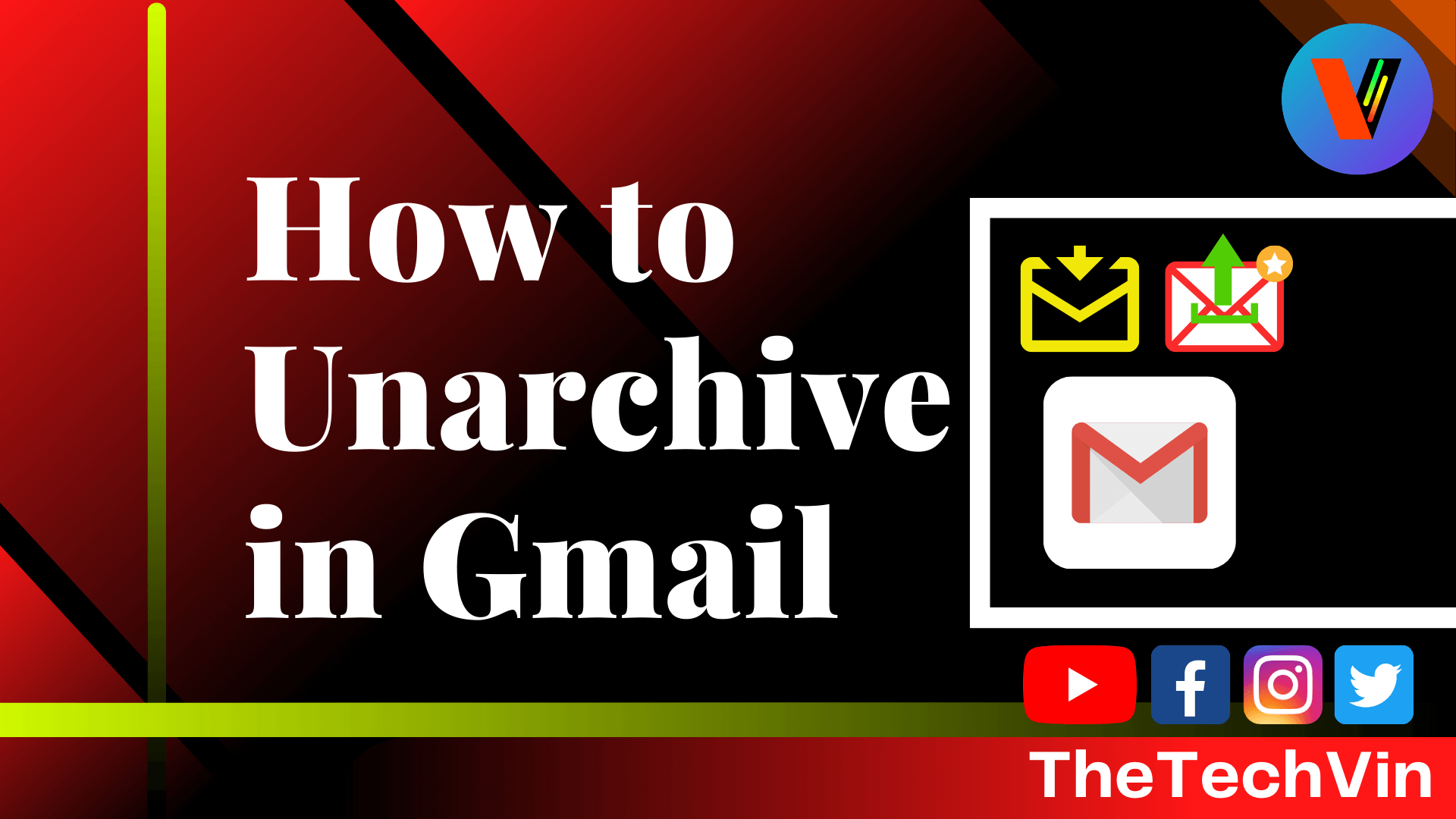 How to Unarchive Emails in Gmail