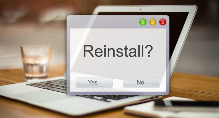 Operating System Reinstall MAC OSX and PC Windows