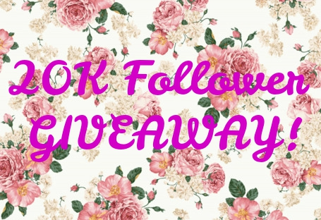 20K FOLLOWERS GIVEAWAY!!