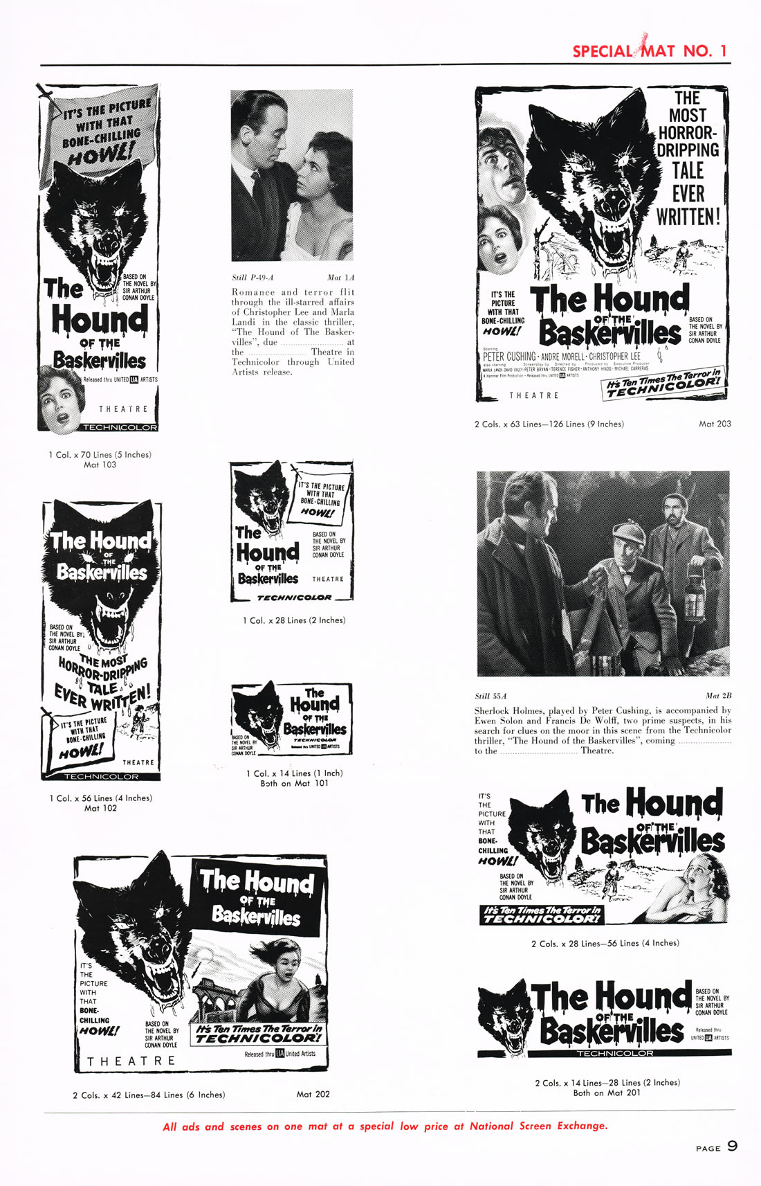 The Hound of the Baskervilles (1959) – The Visuals