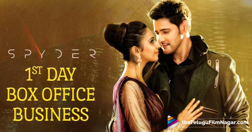 Spyder 1st Day Box Office  Rs 51 Crore Gross Mahesh