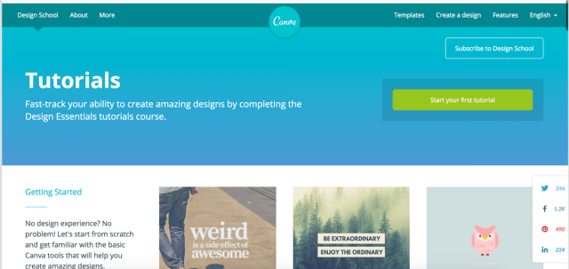 Canva's Design School