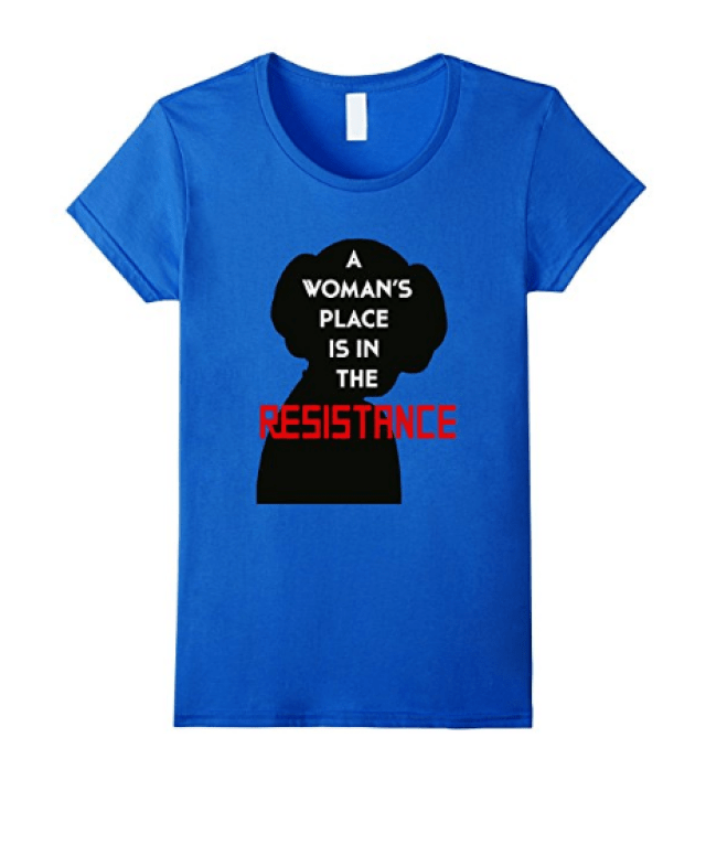 A woman's place is in the resistance tshirt