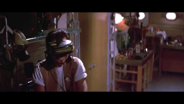 """VR headset being used in the movie """"Hackers"""""""