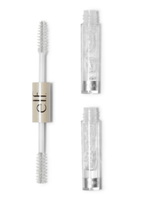 [Image description: E.L.F.'s clear brow and lash mascara on a white background] via elfcosmetics.com