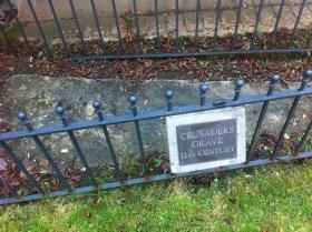 Crusader grave