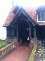 Tudor/Victorian porch
