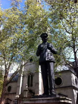 St Clement Danes - church of the Royal Air Force