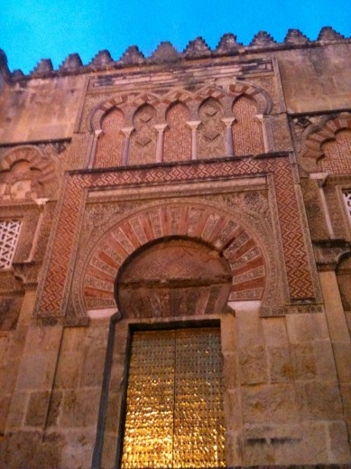 The Great Mosque of Cordoba built by Abd al Rahman in the 9th century