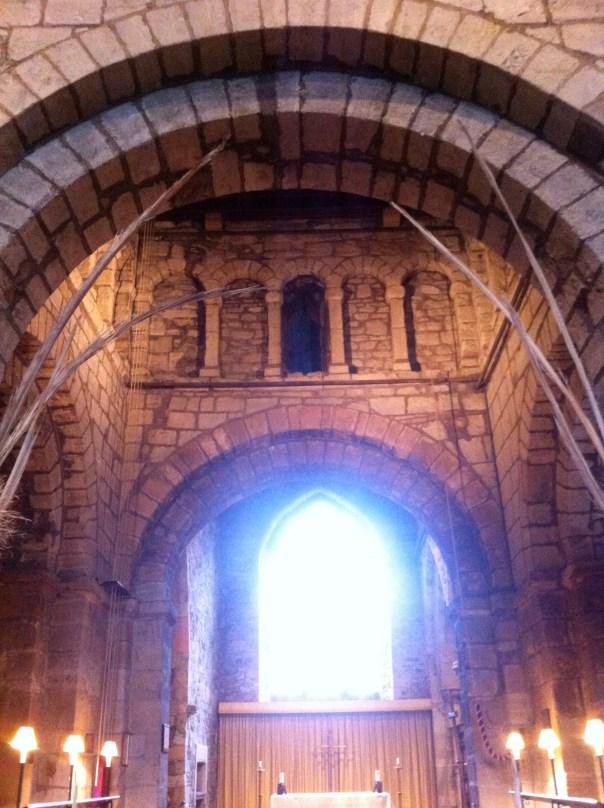 Nineteenth century arch and Saxon window