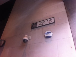 Pope's Head Alley