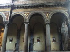 The medieval church built during the Templar era