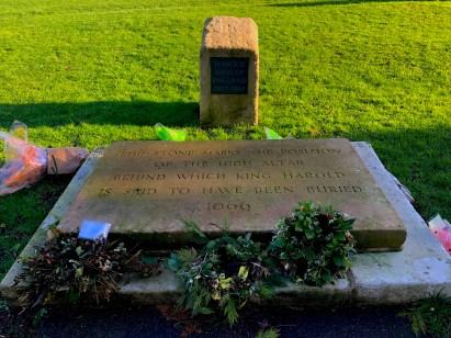 Grave of King Harold at Waltham