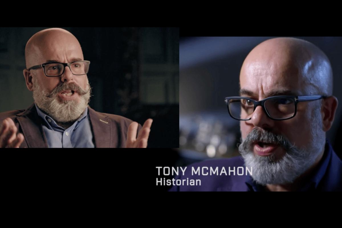 Tony McMahon Past Preservers