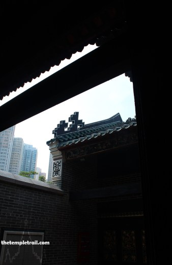 Tam Kung Temple Open Courtyard