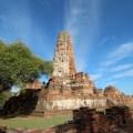 Prang at Wat Phra Ram