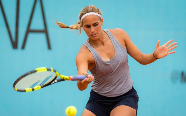 Monica Puig overcame the barrier of the first round at the tournament in Auckland
