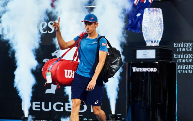 Alex De Minaur became the champion of the competition in Sydney