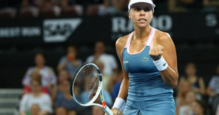 Anett Kontaveit won a strong-willed victory at the start of the tournament in Sydney