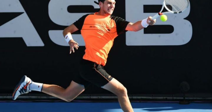 Auckland. Cameron Norrie for the first time became a finalist for the ATP competition