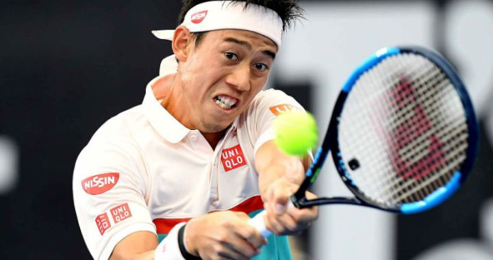 Brisbane. Kei Nishikori won the semifinals