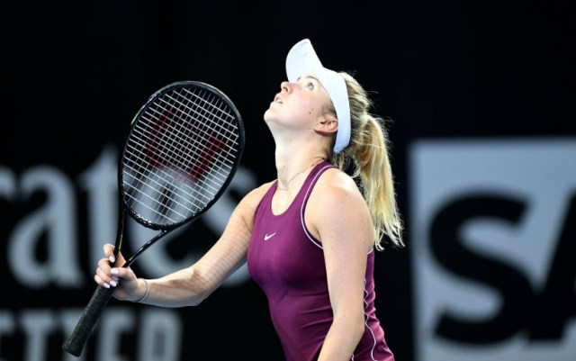 Elina Svitolina: I didn't want to let the national team down