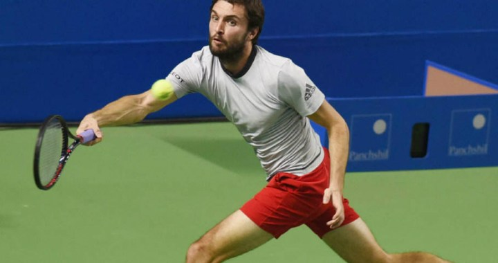 Gilles Simon achieved victory in the second round of competitions in Sydney