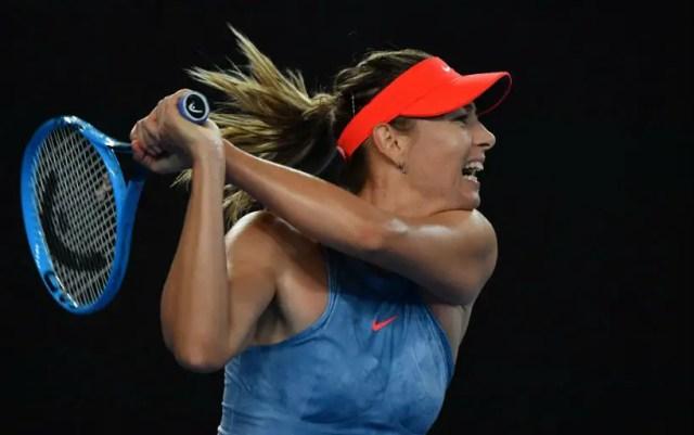 Maria Sharapova advanced to the third round of the Australian Open and will play with Caroline Wozniacki