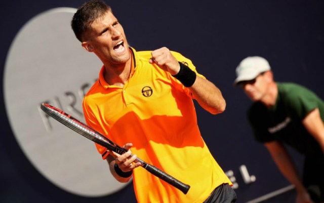 Martin Klizan won at the start of the competition in Sydney