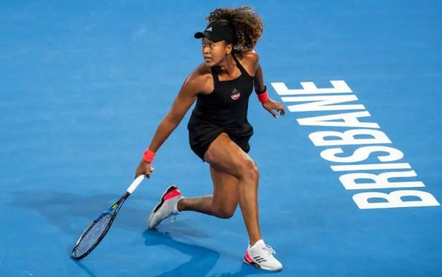 Naomi Osaka became the semifinalist of the tournament in Brisbane