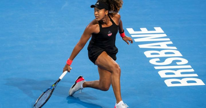 Naomi Osaka became the semifinalist of the tournament in Brisbane