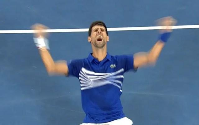 Novak Djokovic became the champion of the Australian Open