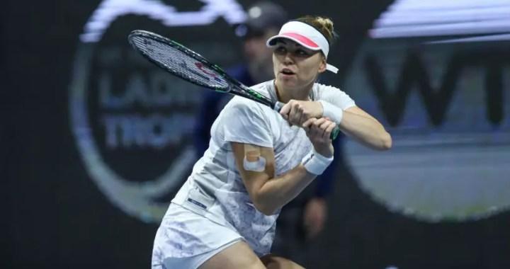St. Petersburg. Vera Zvonareva beat Julia Goerges in three sets