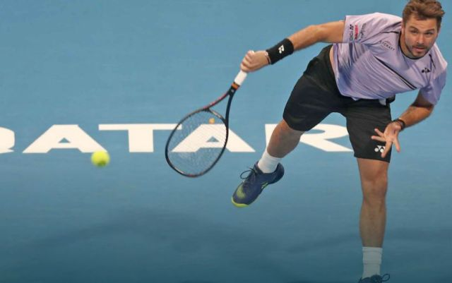 Stan Wawrinka went to the quarterfinals of the competition in Doha