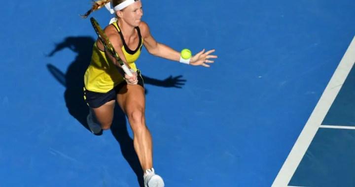 Sydney. Kiki Bertens gave four games to Yulia Putintseva