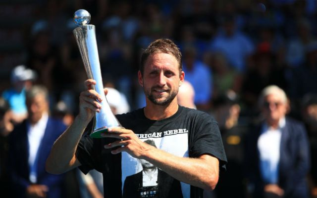Tennys Sandgren became the champion of the tournament in Auckland