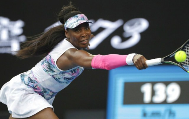 Venus Williams made it to the third round of the Australian Open