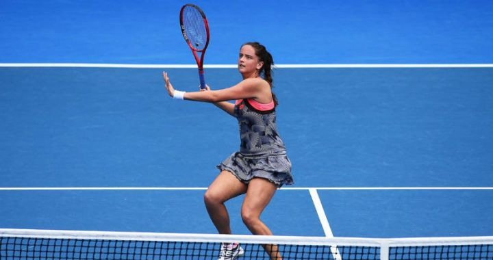 Victoria Kuzmova made it to the semifinals of the tournament in Auckland