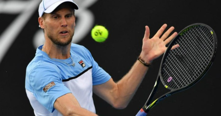 Andreas Seppi made it to the second round of the tournament in Rotterdam