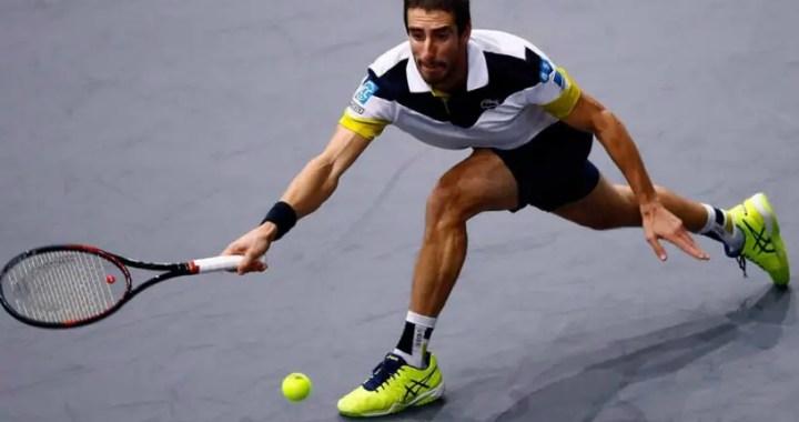 Cordova Pablo Cuevas reached the final