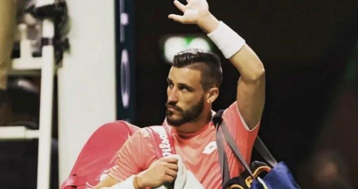 Damir Dzumhur leaves competition in Marseilles