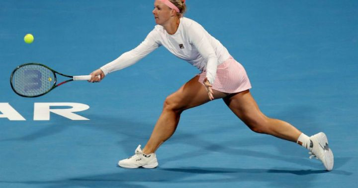 Doha Kiki Bertens went to the quarterfinals of the competition