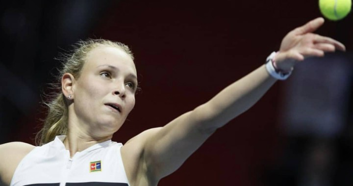 Donna Vekic failed to overcome the barrier of the first round of the tournament in Dubai